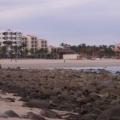 Mirando hacia el Hotel Costa Azul