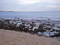La marea baja frente al Zipper´s