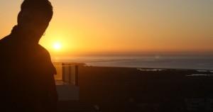 yo y el amanecer