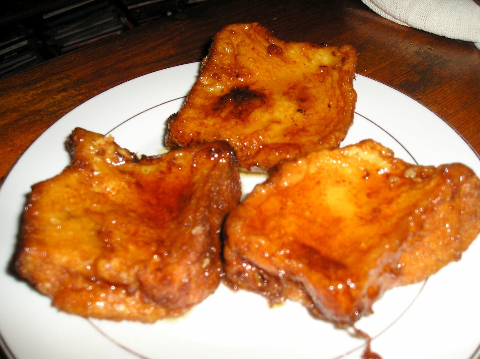 torrijas pan de molde